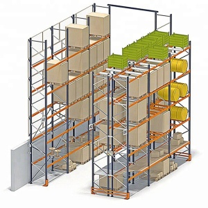 China warehouse adjustable rack storage pallet racking system