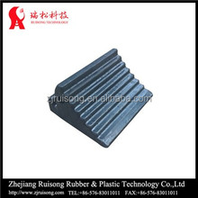 rubber wheel chock, plastic wheel chock