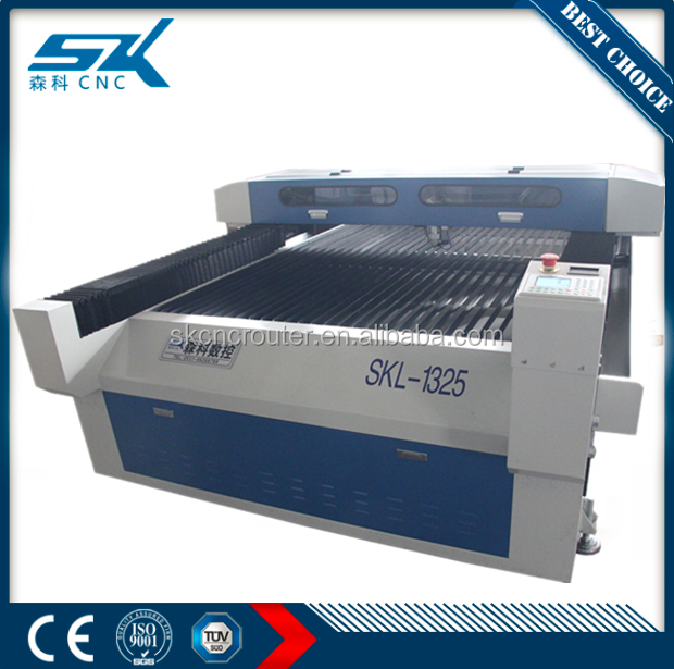 1325 laser machine co2 metal sheet cutting 1mm,2mm,3mm stainless steel metal cutter laser 260w