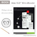 onyx boox Max 13.3 inch e reader large screen ereader