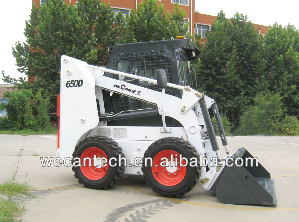 Skid Steer Loader with Bucket and Other Attachment Optional