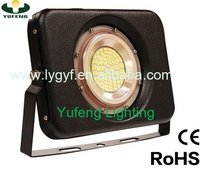 2016 factory new hot slim SMD IP67 waterproof outdoor light LED floodlight 100w CE