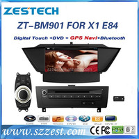 Touch screen car dvd gps for BMW X1 E84 accessories with gps navigation & car multimedia player ZT-BM901
