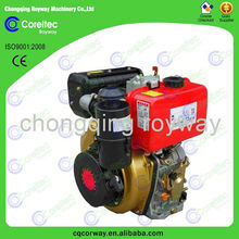 Widely Used 4-Stroke Air Cooled Electric Start Diesel Engine 20 HP