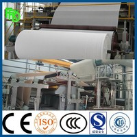 2880 mm waste paper recycling equipment