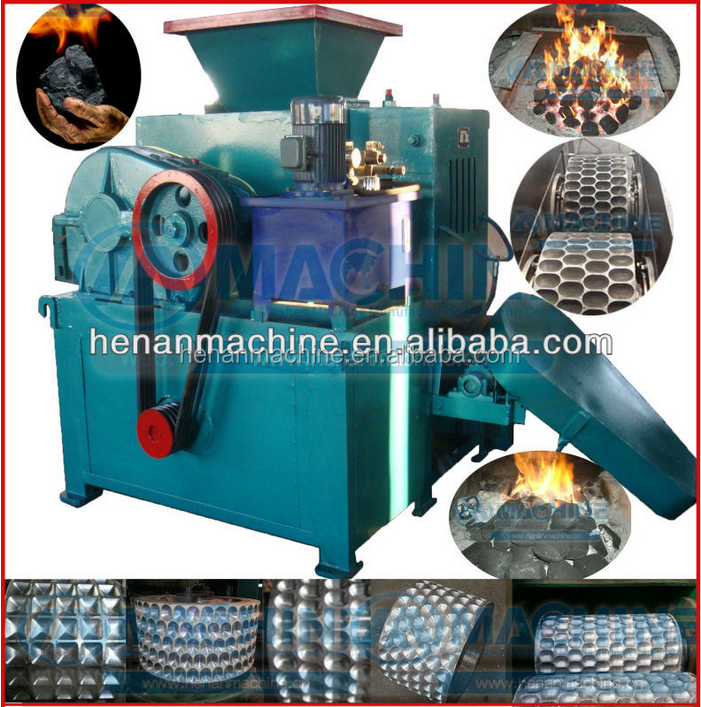 Best-in-class performance charcoal/coal briquette ball press machine
