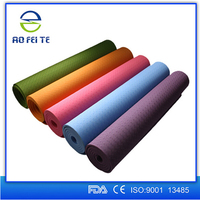 Yoga mat towel Fitness exercise High Quality And Best Sale Yoga Mats Eco-friendly TPE Yoga Mat