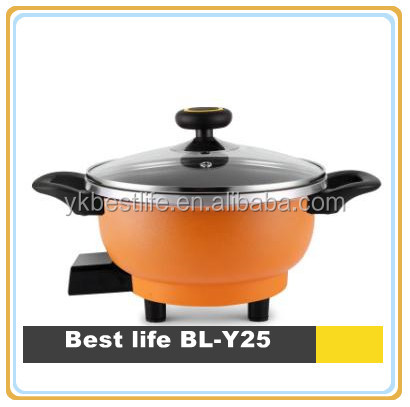 25cm thermos round mini electric hot soup pot