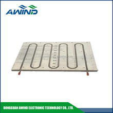 aluminum water cooling heatsink plate with 800mm