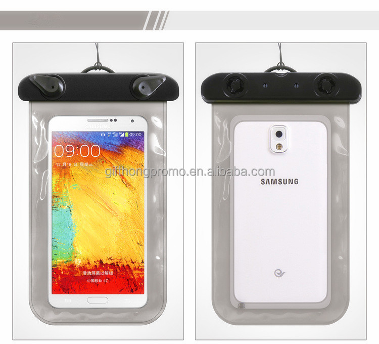 wholesale full cover pvc cell phone waterproof bag universal