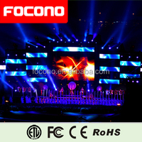flexible half transparency high definition P10 indoor for stage and event LED display