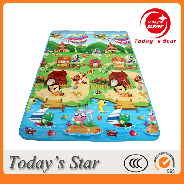 New Kids Playmat Waterproof Exercise Rug Baby Educational Game Mat