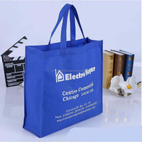 Cheapest fashion promotion Clothing store non woven shopping bag