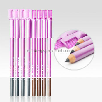 Menow P09013 Cosmetic pencil with comb for eyebrow