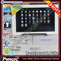 Hot CUBE android 4.1 quad core rockchip 3188 tablet pc