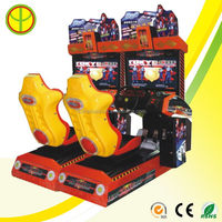 New style professional coin operated games racing car machine