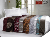 Bedding set bed flag decorative hotel bed scarf