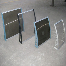 polycarbonate used door awnings 80x100cm