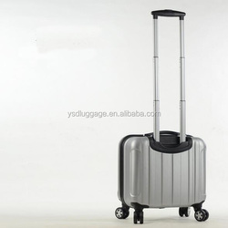 Silver best abs travel time business carry-on luggage