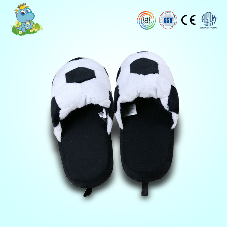 Nanjing soft adult character man plush indoor slippers