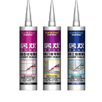 Silicone Sealant for glass and aluminum panel weather proof, glass adhesive
