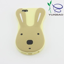 Design your own 3d cute animal silicone cell phone case , silicone phone case
