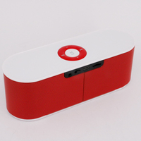S207 bluetooth speaker Wireless Stereo Audio Receiver Mp3 Player With TF Card FM Radio ABS