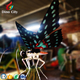 Large Beautiful Artificial Animatronic Butterfly Decoration