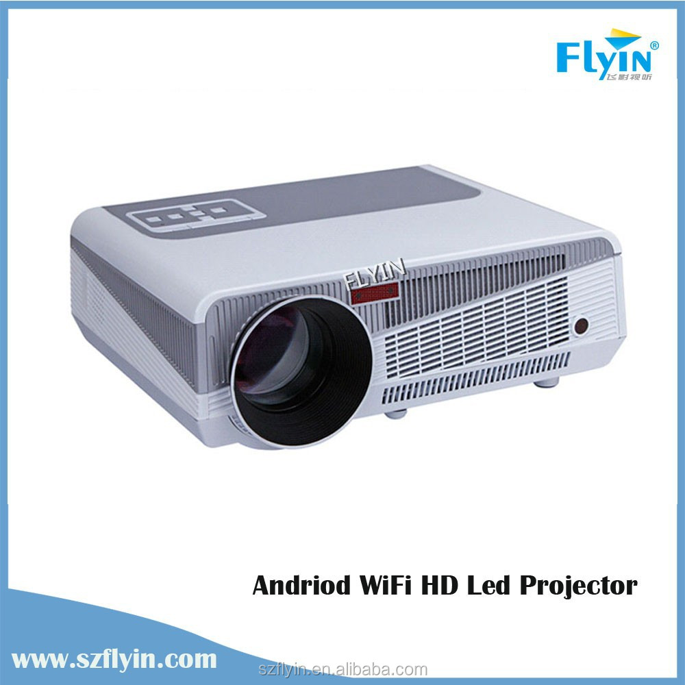4000 lumens smart android portable proyector 4 2 2 wifi for Best portable smart projector