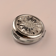 Wholesale Antique Sunflower Makeup Compact Mirror