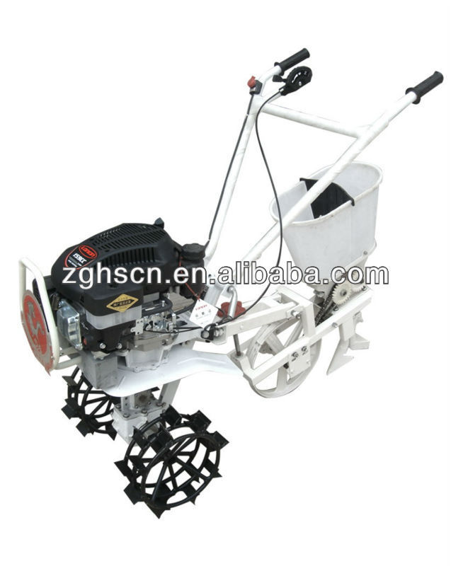 l dibble sowing state farm equipment power tiller