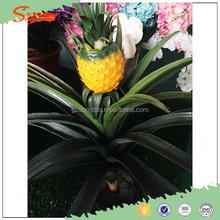 Latest design Environmental artificial pineapple tree,fake decorative pineapple tree