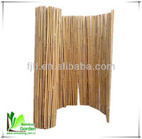 Dry Wooden Custom Cheap Decorative Reed Fence