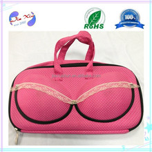 High quality Factory Price Fashion Lace EVA Bra bag & case