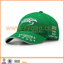 cotton racing cap with 3d embroidered logo personalized baseball caps hats for adult youth