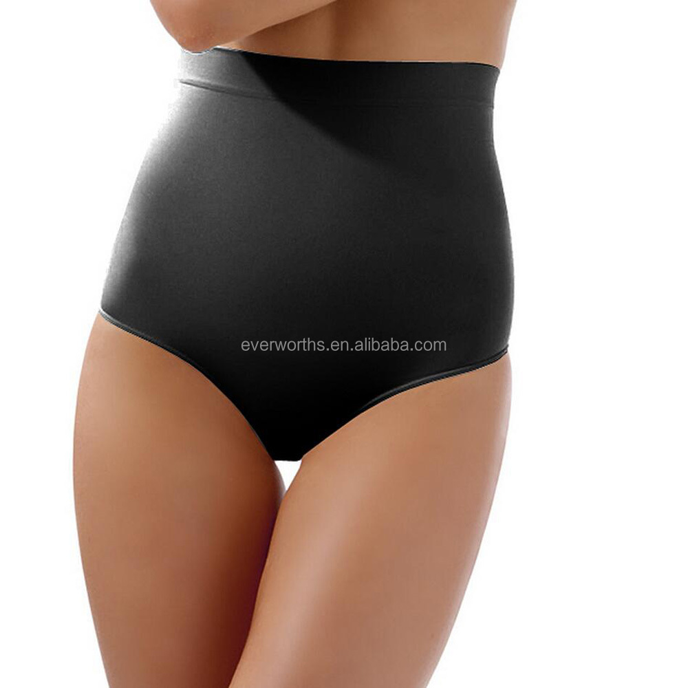 High waisted firm control seamless body shaping undergarments for women