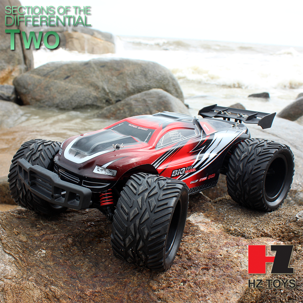 Double differential mechanisms 2.4G traxxas nitro rc car with 35km/h