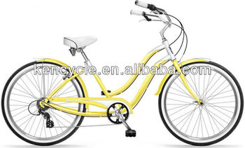 26 inch Lady 6 Speed Aluminum Adult Cruiser /Lady's cruiser / (SY-BC26279)