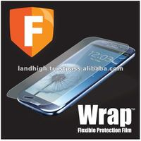 TPU Screen Protector for Samsung Galaxy S3, TPU Protective Film