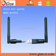 usb atheros adapter wireless RT5370 USB2.0 802.11n/g/b 2.4GHZ 150Mbps Wifi/WLAN nano mini