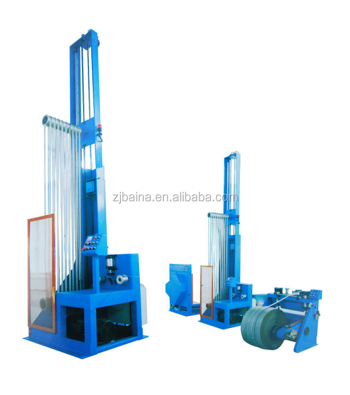 steel band (wire) accumulating machine automatic steel belt storage rack compound rubber machinery