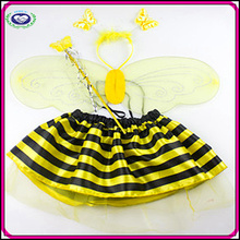 4pcs/set Newest Fashion Wholesale Party Cosplay Cute Bee Costume Child