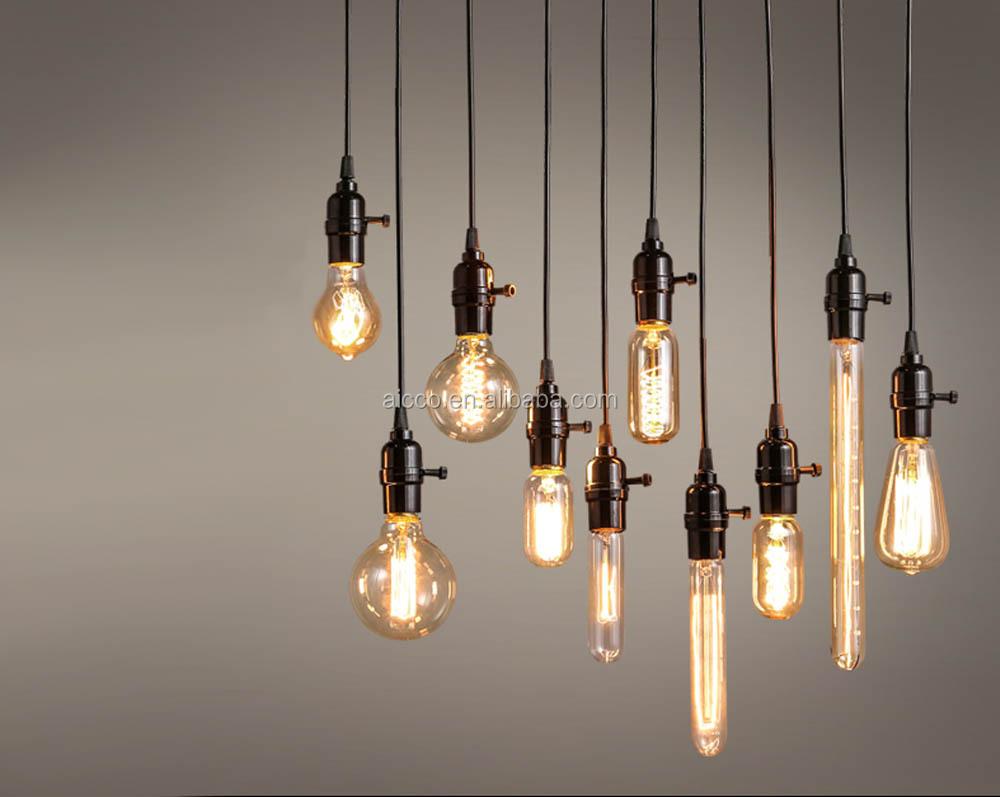 Edison Bulb Chandelier Industrial