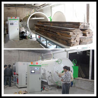 Timber Heat Treatment With High Frequency Heating Principle from SAGA,HF Woodworking Machinery