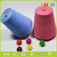 polyester cotton blended knitting yarn with wicking and anti-bacterial function