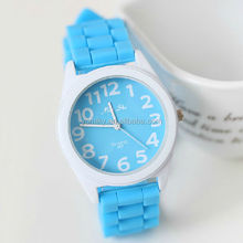 Free Shipping 2014 New Product Wholesale Custom Silicone Elegance Watch Price watch set
