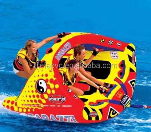 Water Sports Towable Tube Tubing Ski Boat Inflatable 2 Person Sport Rider Float