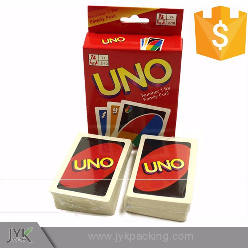 print and playing card games uno card