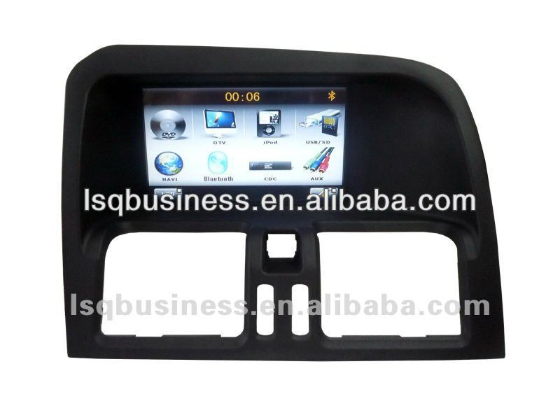 LSQ Star In Dash Car Tv Dvd Player With 7 Inch Touch Screen And Wince 6.0 System For Volvo Xc60
