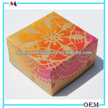 Handmadeand Hand Painted Paper Box